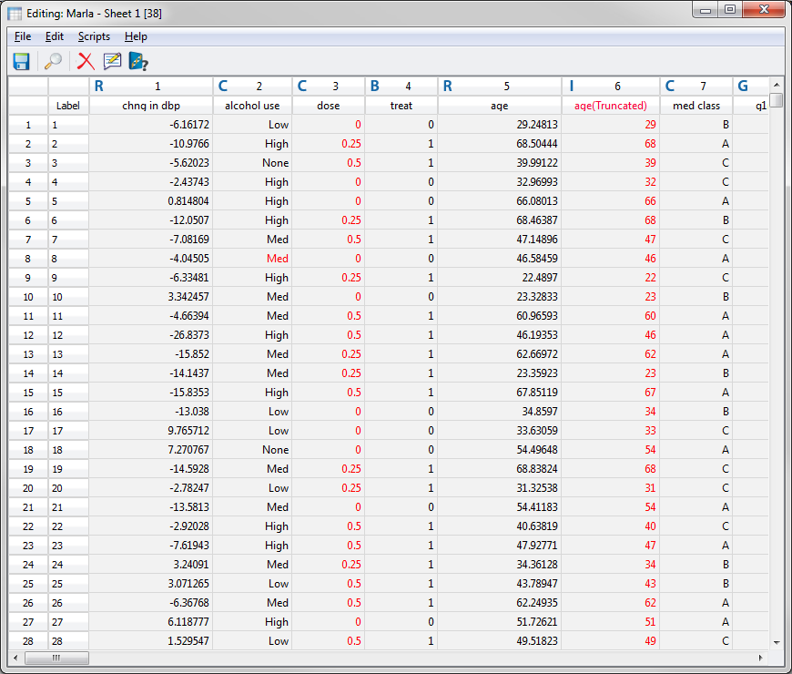 Editing a Spreadsheet — SNP & Variation Suite v8.7.1 Manual